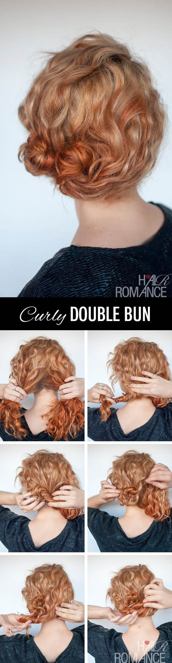 Cute one for curly hair....
