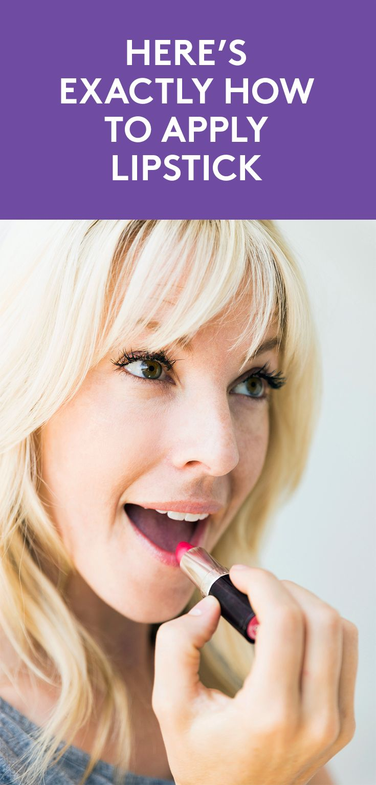 Here's Exactly How to Apply Lipstick | There's nothing like a little lipst...