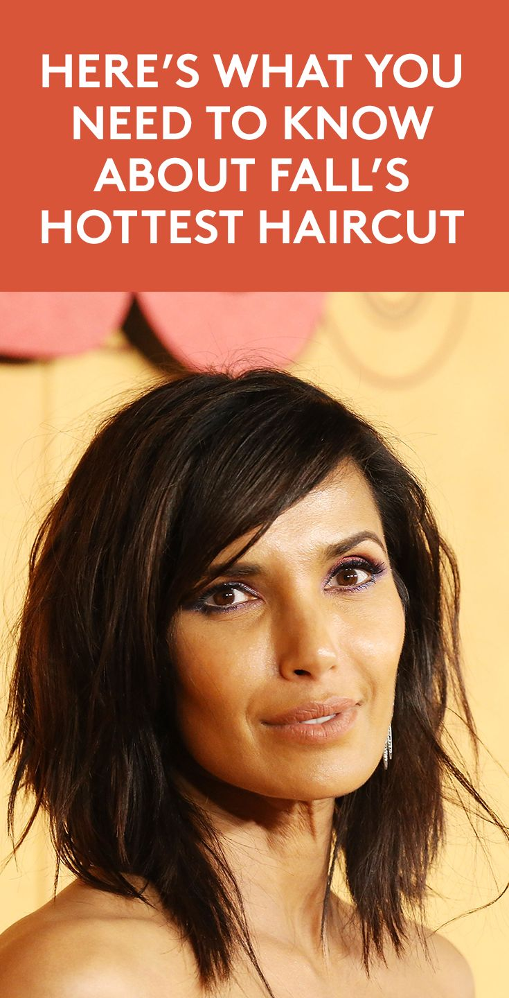 Here's What You Need to Know About Fall's Hottest Haircut | Padma Lakshmi an...