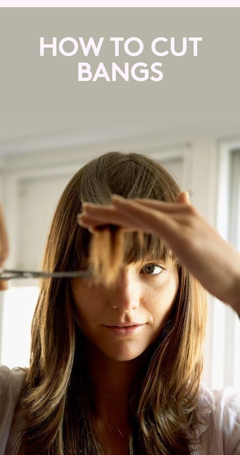 How to Cut Bangs | There's no need to visit the salon in between cuts. These...