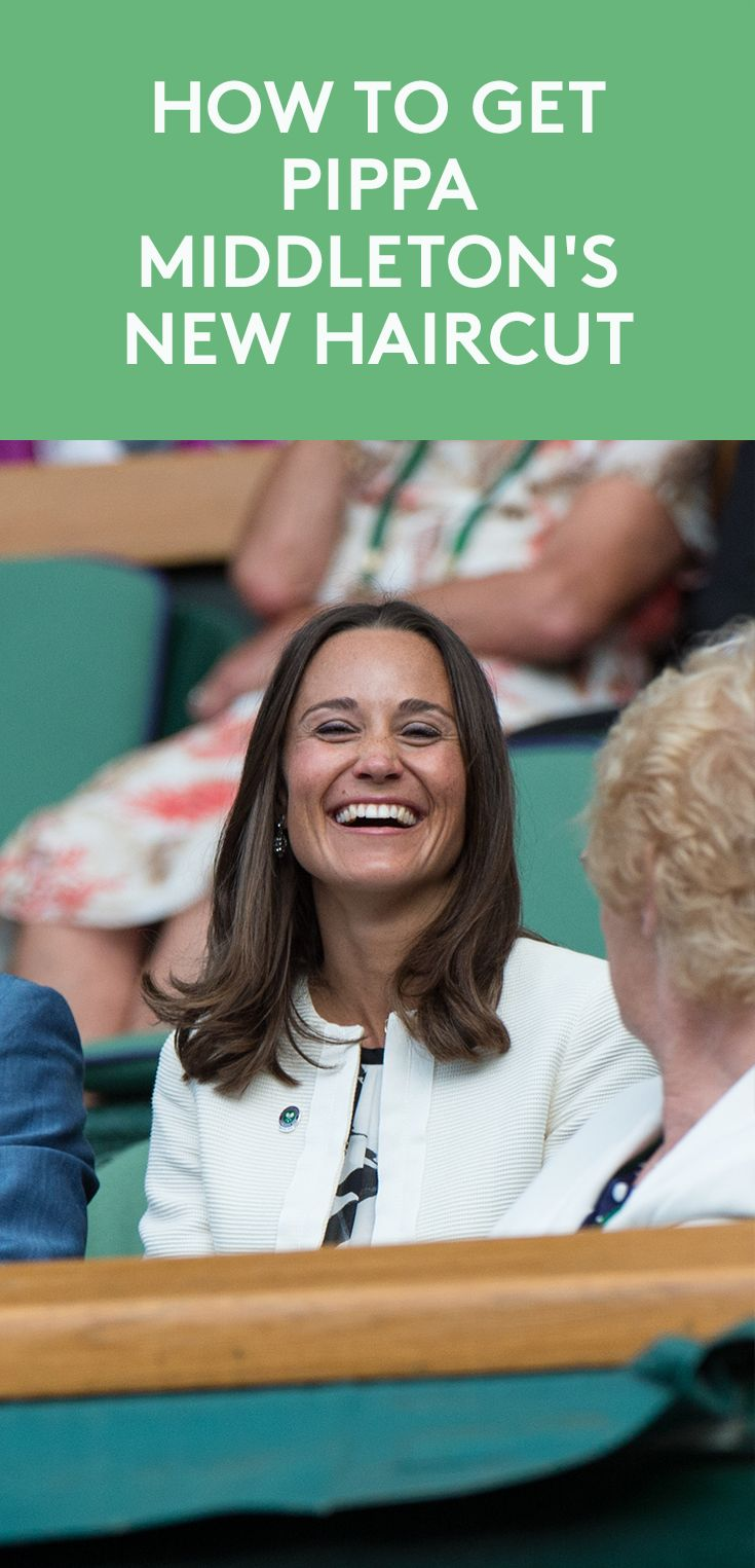 How to Get Pippa Middleton's New Haircut | Excuse us while we make an appoin...