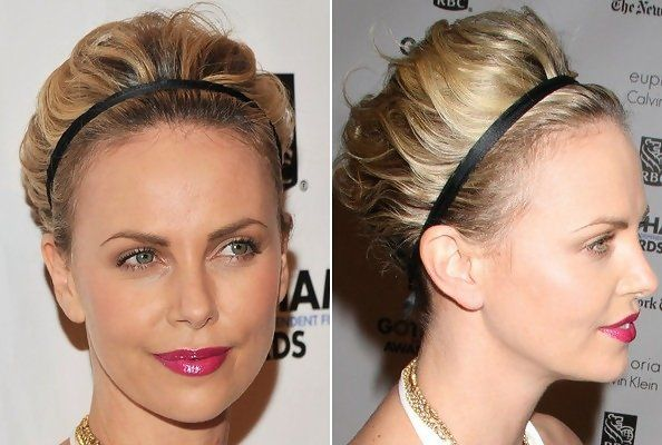 How to style this updo for short hair....