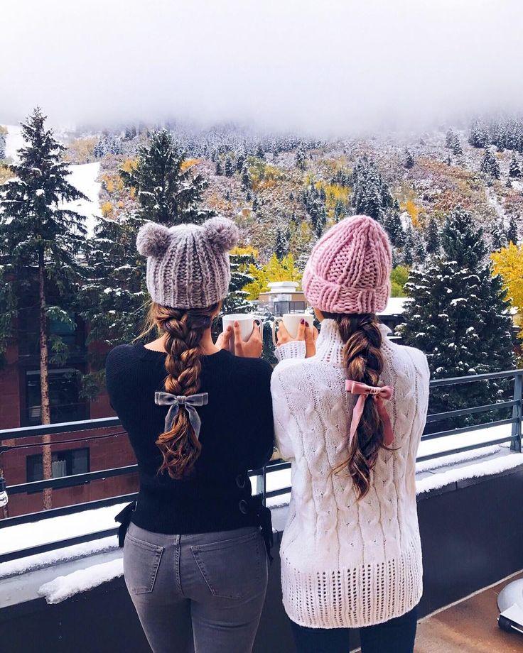 """Jessica Ricks (Melissa Bregar) on Instagram: """"Aspen turned into a winter wonde..."""