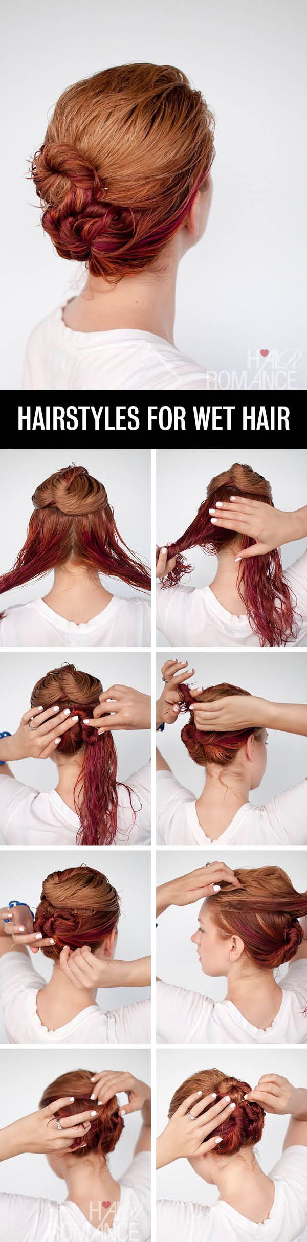 Just follow the steps and go: no blow-dry needed....