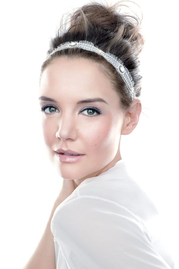 Katie Holmes for Bobbi Brown, but wouldn't that be a gorgeous look for a bri...
