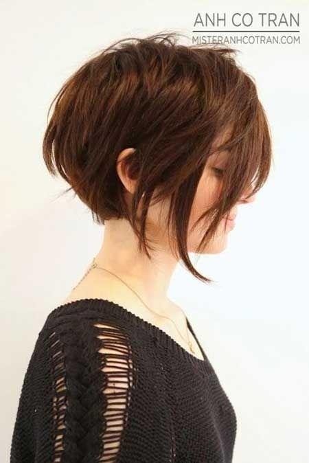 Short cut for thicker hair....