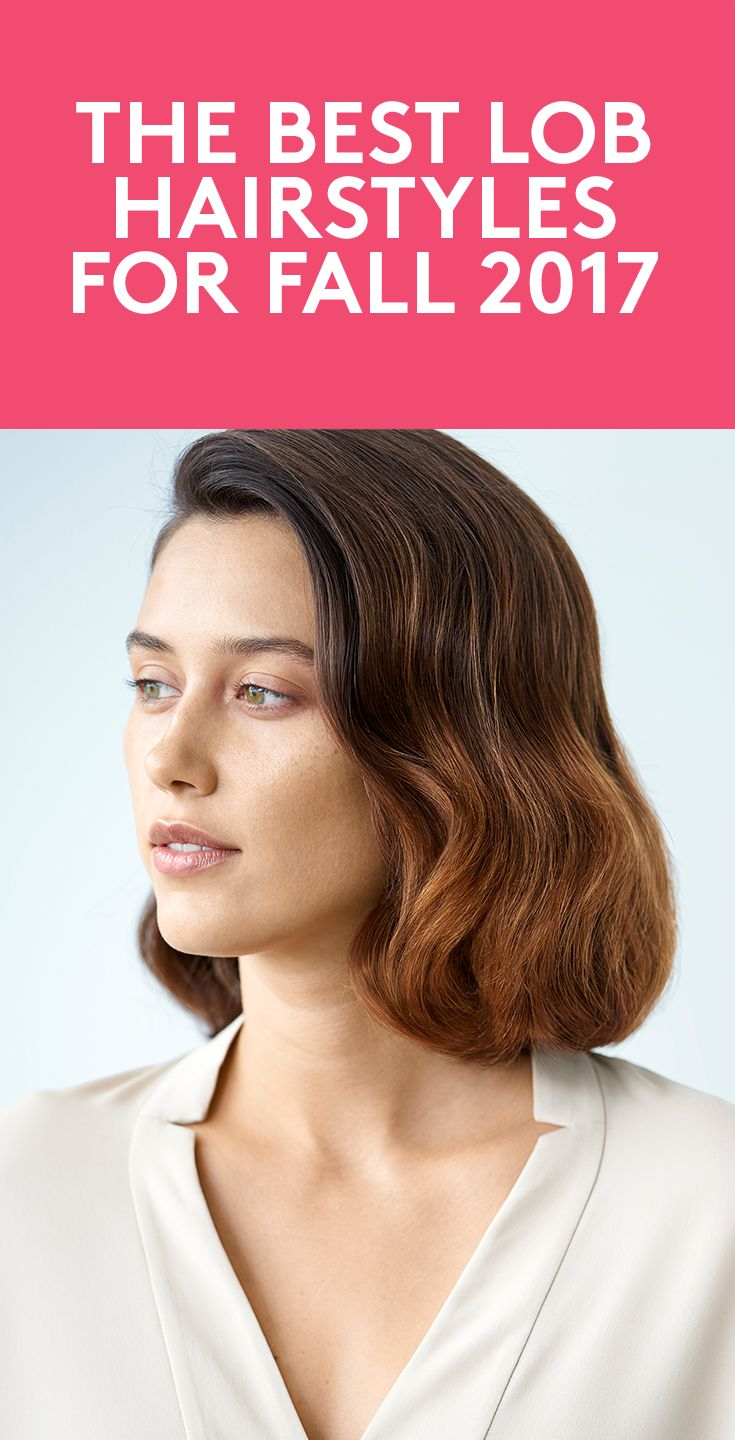 The Best Lob Hairstyles for Fall 2017 | We all know by now that the lob (otherwi...