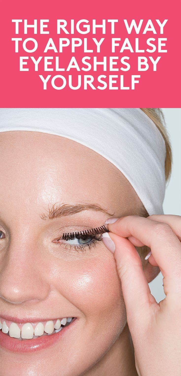 The Right Way to Apply False Eyelashes By Yourself | Before you head for the hil...