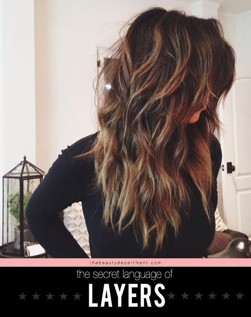 Thebeautydepartme... runs down what layers can do for hair of different lengths,...