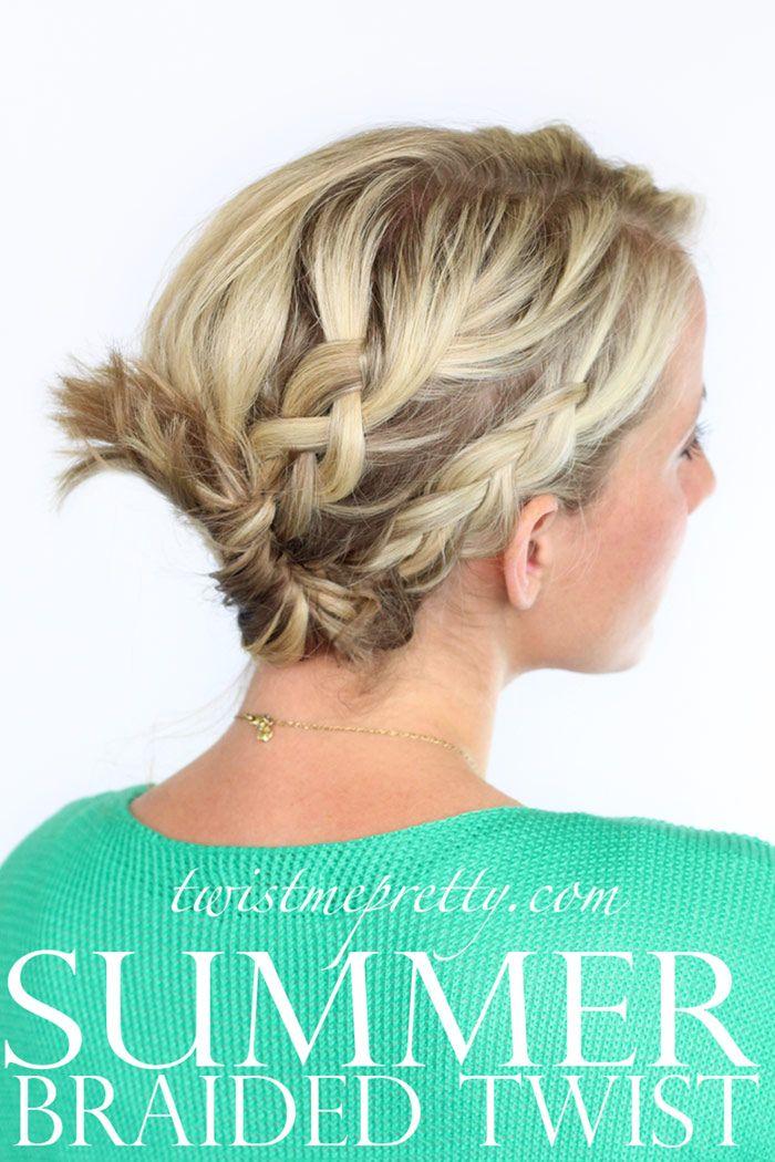 This braid/twist combo seems perfect for the weekend. Click on the photo for the...