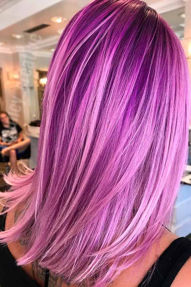 When you think about purple hair, you might love the look but hesitate if it fit...