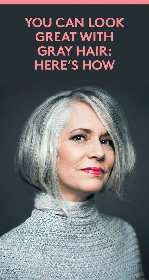You Can Look Great With Gray Hair: Here's How | Aura Friedman, a hairstylist...