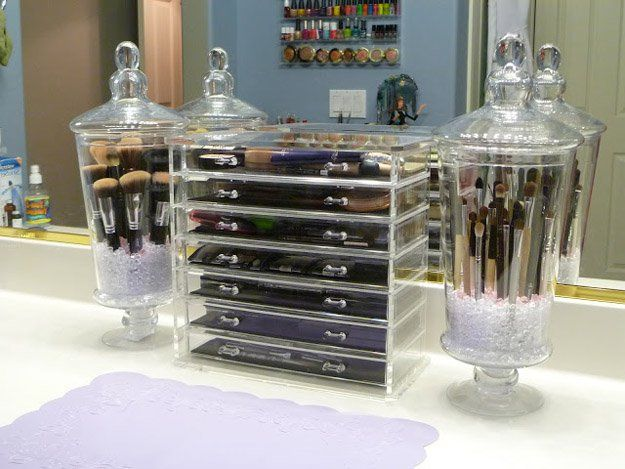 13 DIY Makeup Organizers To Give Your Makeup A Proper HomeFacebookGoogle+Instagr...