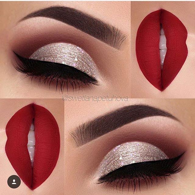21 Looks: Eye Makeup for Red Lips > CherryCherryBeaut......