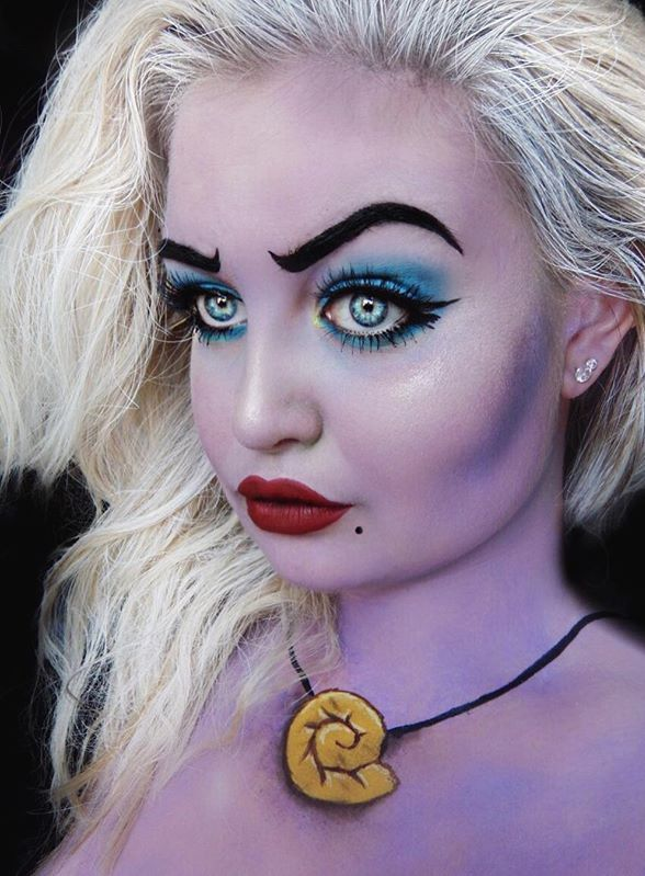 50 Pretty Halloween Makeup Ideas You'll Love | Halloween 2016 beauty looks fo...
