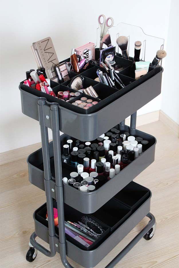 7 IKEA-Inspired DIY Makeup Storage IdeasFacebookGoogle+InstagramPinterestTumblrT...