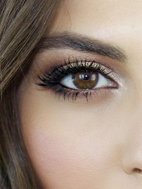 A Stunning Makeup Tutorial for Brown Eyes via @ByrdieBeautyUK...