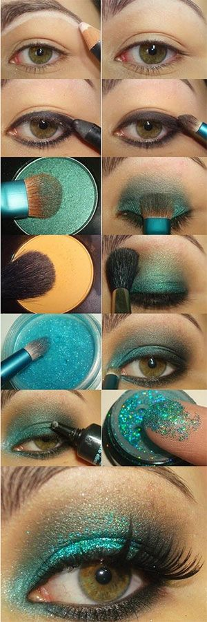 AMAZING mermaid makeup how to!...