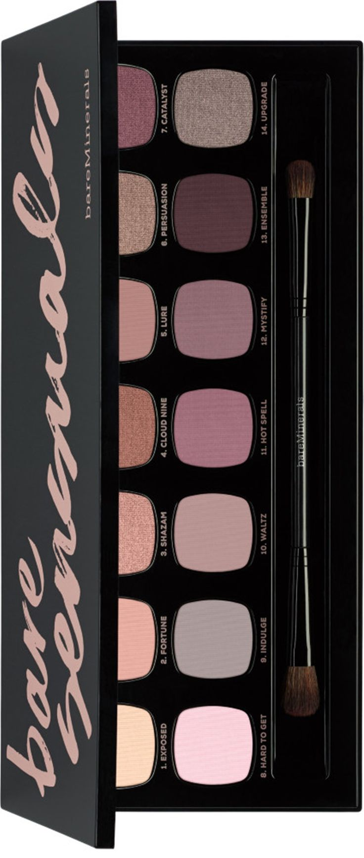 Bare Minerals The Bare Sensuals is a new 14.0 Ready Eyeshadow Palette arriving f...