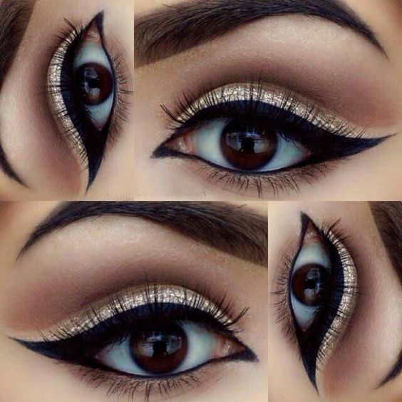 Build lustrous and exotic eye looks with this palette of nine totally gorgeous, ...