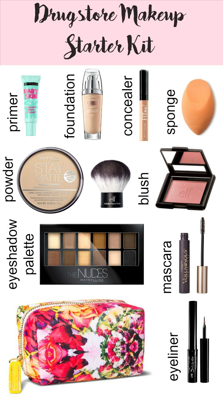 Drugstore Makeup Starter Kit - texasweettea...