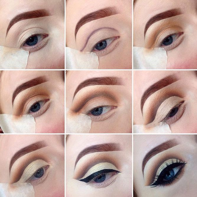 Eye makeup tutorials always come to our rescue when we wish to try something new...