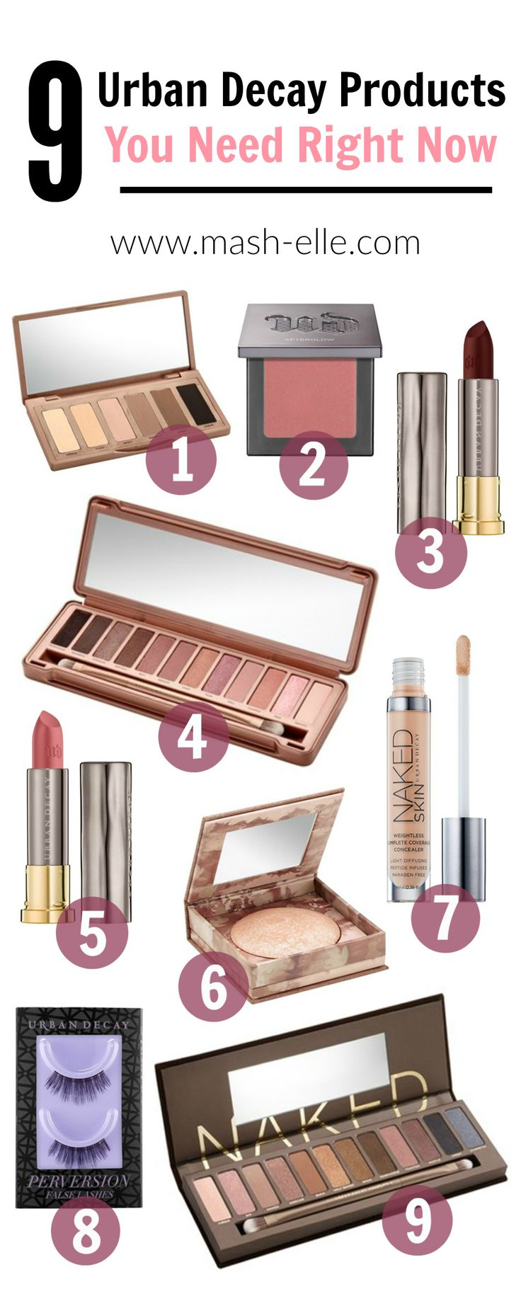 Finally the best of the best! All of the Urban Decay products you NEED in your...