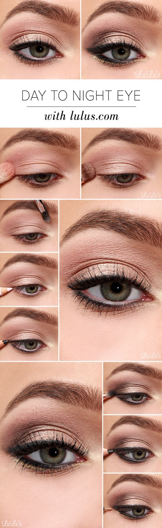 How To: Step By Step Eye Makeup Tutorials And Guides For Beginners...