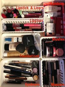 Organizing your makeup- my giant bag isn't cutting it anymore....