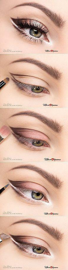 Paso maquillaje para los ojos de luz | thePO.ST...