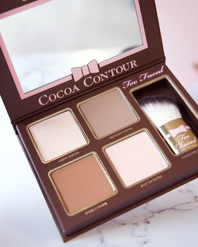 pinterest lily too faced cocoa contour palette shades face makeup...