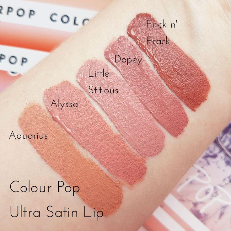 Sonya Esman x ColourPop Gemini by Night Palette & Ultra Satin Lipsticks | Sw...