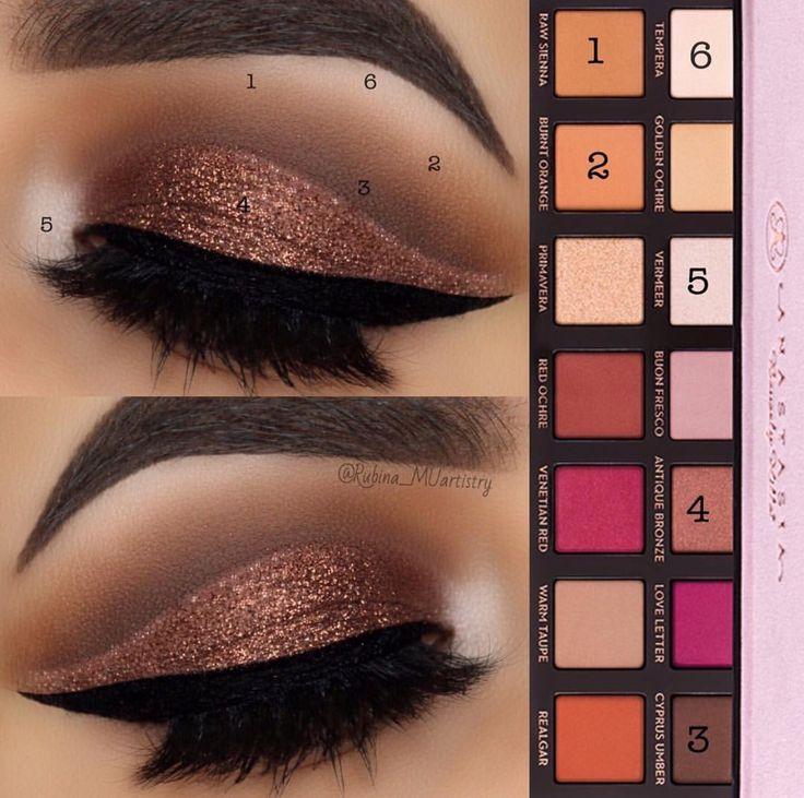 Stunning makeup look using Anastasia Beverly Hills Modern Renaissance Palette an...