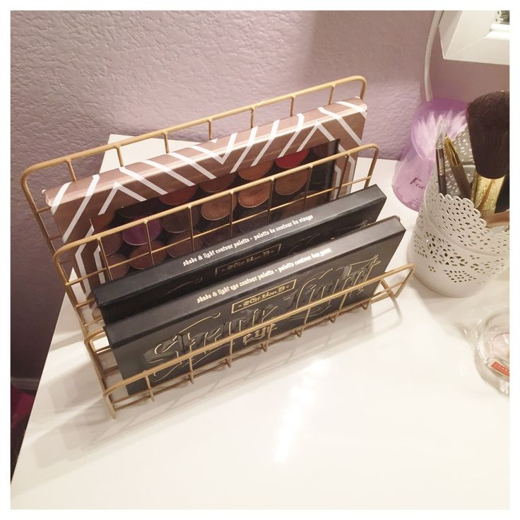 Target Dollar Spot Wire Organizer for Makeup Storage...