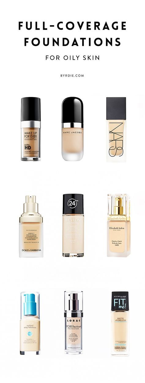 The 10 best full-coverage foundations for oily skin...