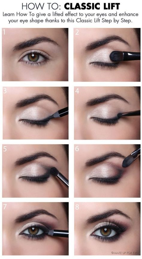 The 11 Best Eye Makeup Tips and Tricks | How to: Classic Lift...