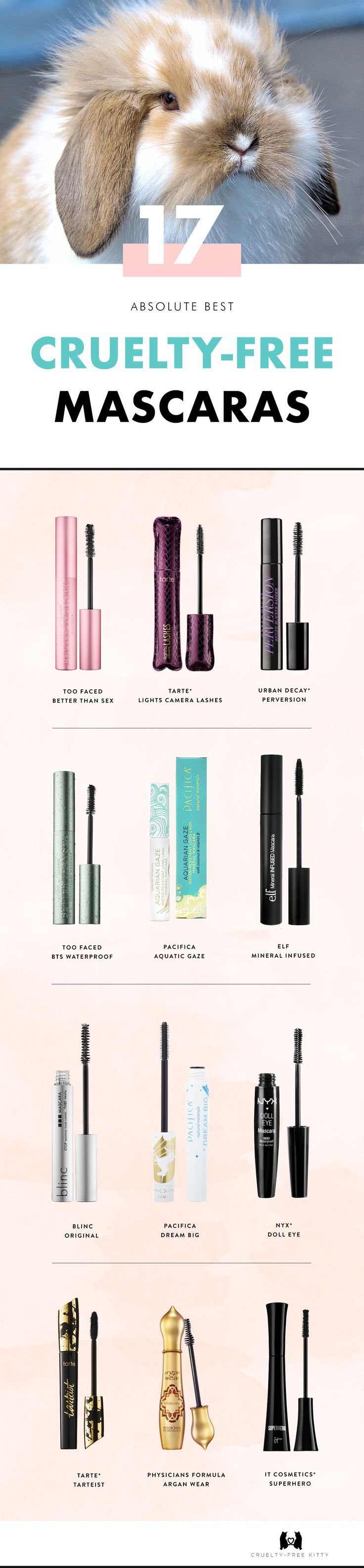 The best cruelty-free mascaras with vegan options. Click for the full list!...