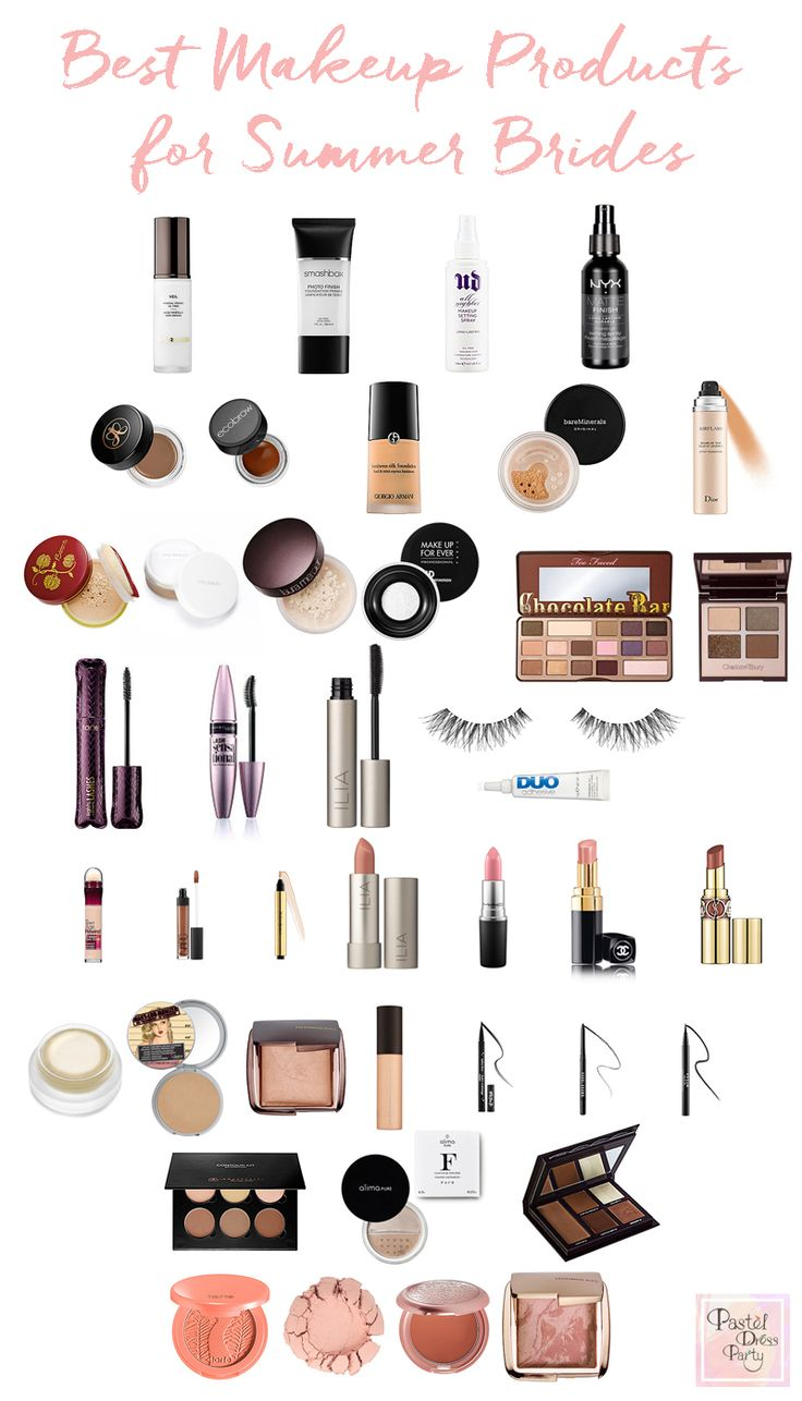 The ultimate bridal makeup products! From green beauty, to drugstore, and luxury...