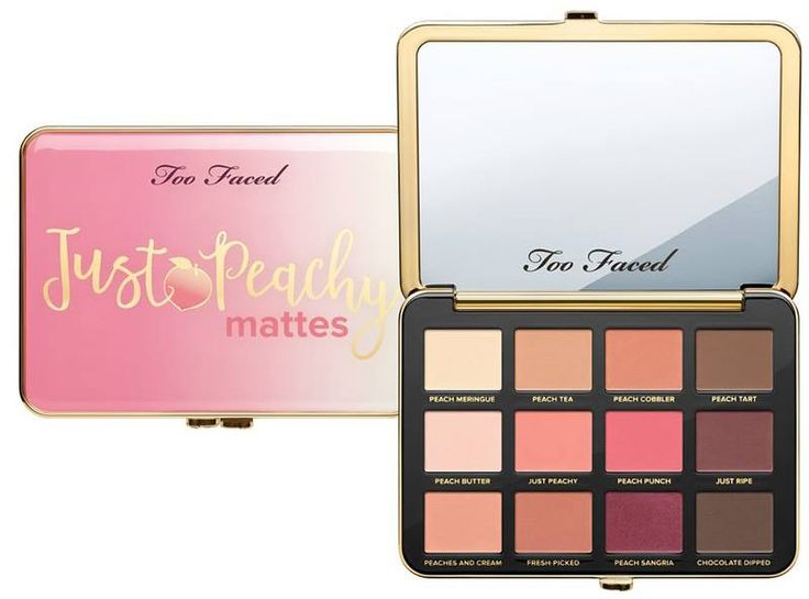 Too Faced Fall 2017 Peaches and Cream Collection...