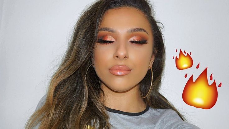 URBAN DECAY NAKED HEAT PALETTE MAKEUP TUTORIAL...