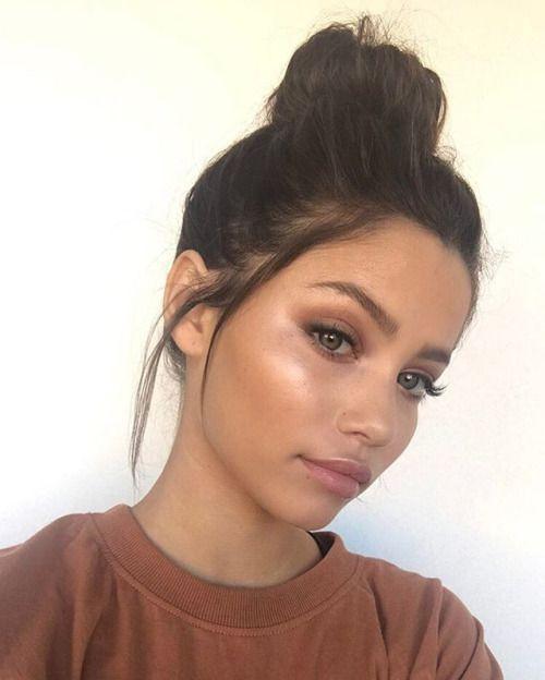 Use a cream highlighter like Ilia Cosmic Dancer for a bronzed strobe...