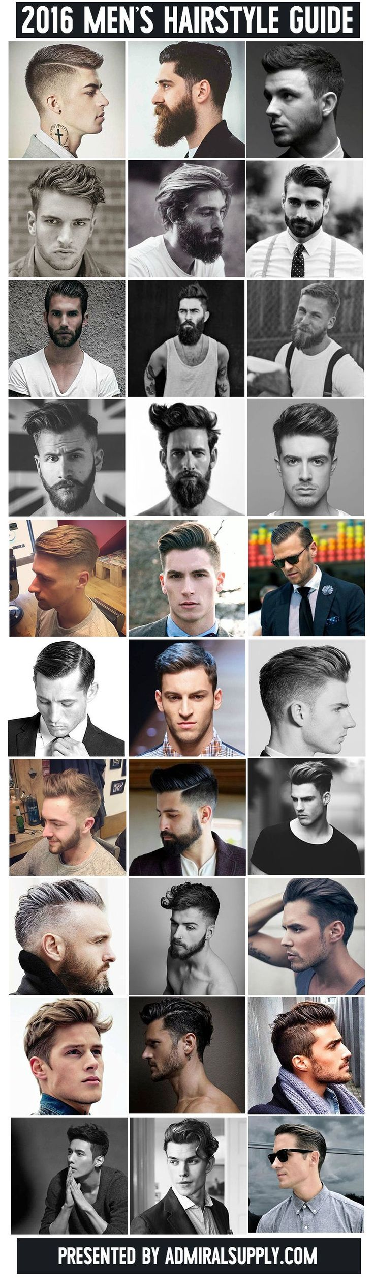 2016 Classic Men's Hairstyle Guide...