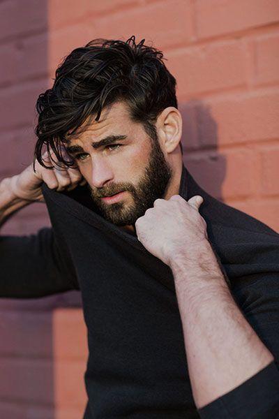 Beard + Medium lenght hair...