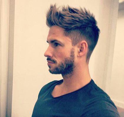 hair and beard...