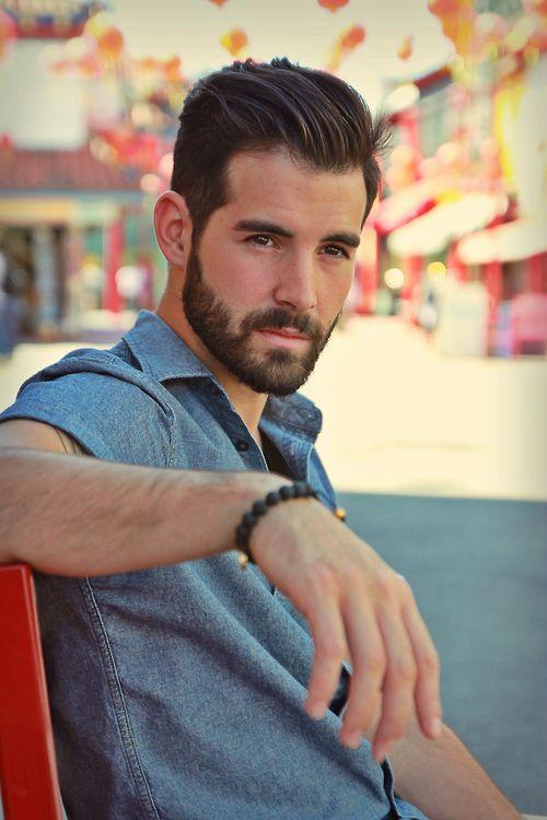 #hair #hairstyle #haircut #style #barbershop #barber #guy #male #beard...