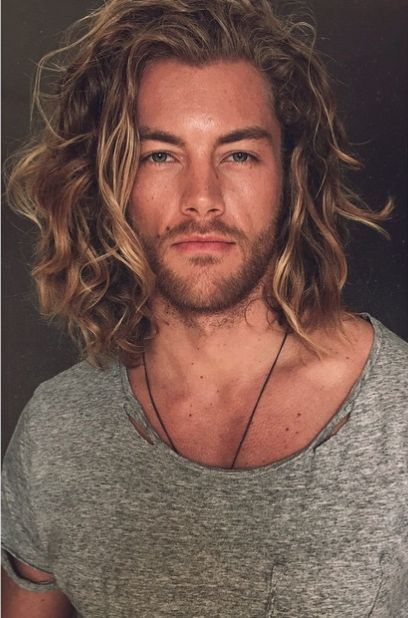 Long hair ideas for men!...