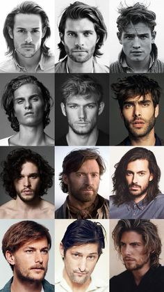 Men's Dishevelled and Rugged Long Hairstyles Lookbook...