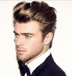 The modern version of yet classic James Dean's mens hairstyles 2017...