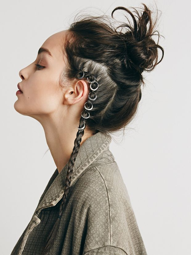 Rings and Hair: Dont care about hair by Keely...