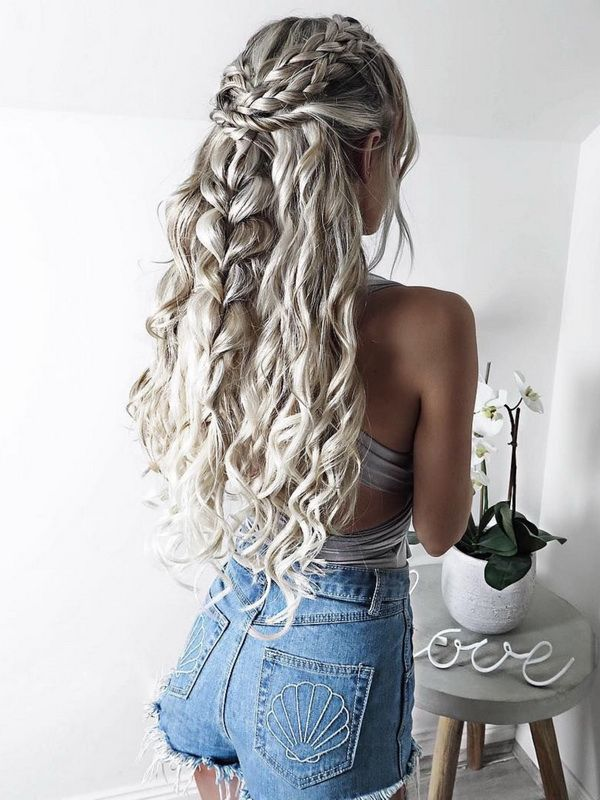 Braided Hairstyle Ideas #Braids...